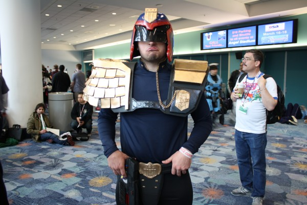 judge dredd cosplay