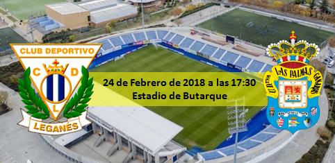 Previa CD Leganés - UD Las Palmas 17:30 en Butarque