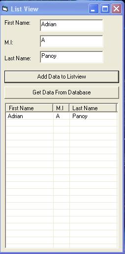 Edit Listview Subitem In Vb6 Format Data - checksletter