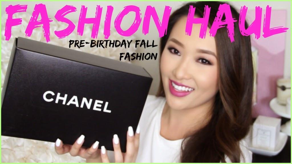 7481fce641f9 Pre-Birthday   Fall Fashion Haul (NEW CHANEL