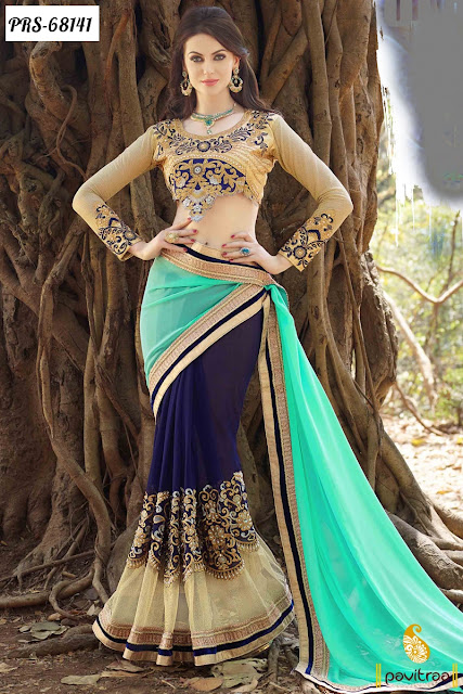 Indian Diwali and Rakhi Festivals Special Traditional Designer Sarees