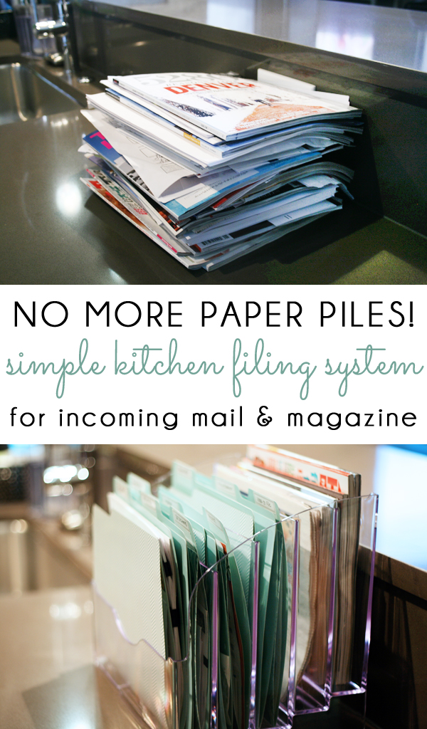 Kitchen Filing System