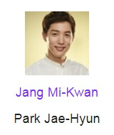 Jang Mi-Kwan pemeran Park Jae-Hyun