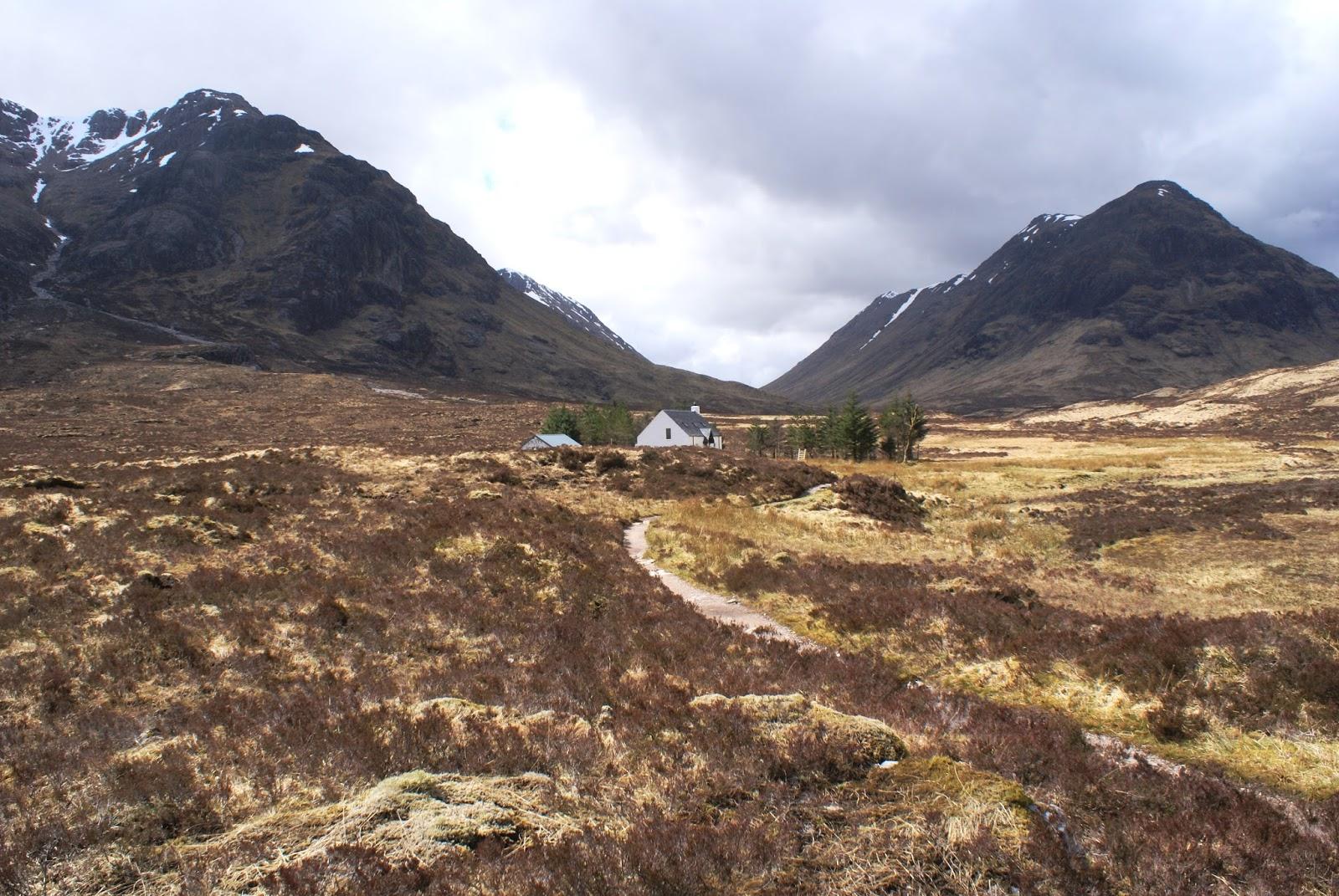 glen coe highlands Altnafeadh scotland united kingdom uk
