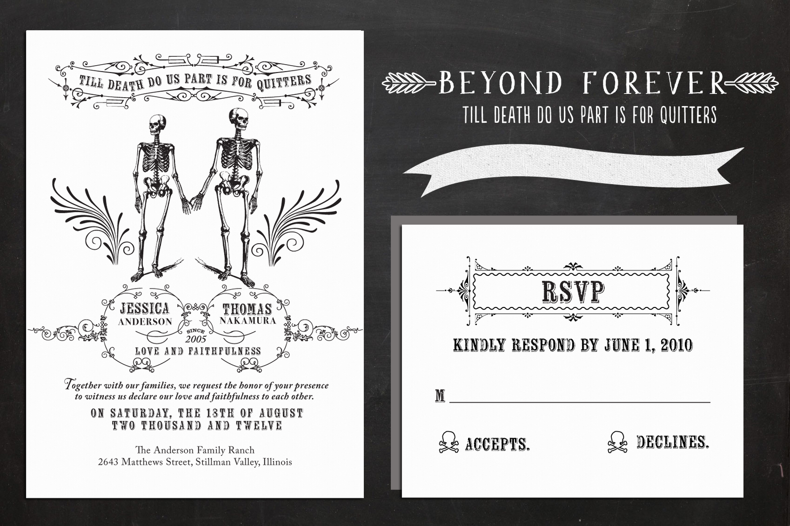 Parts Of Wedding Invitation: The Paper Paramour