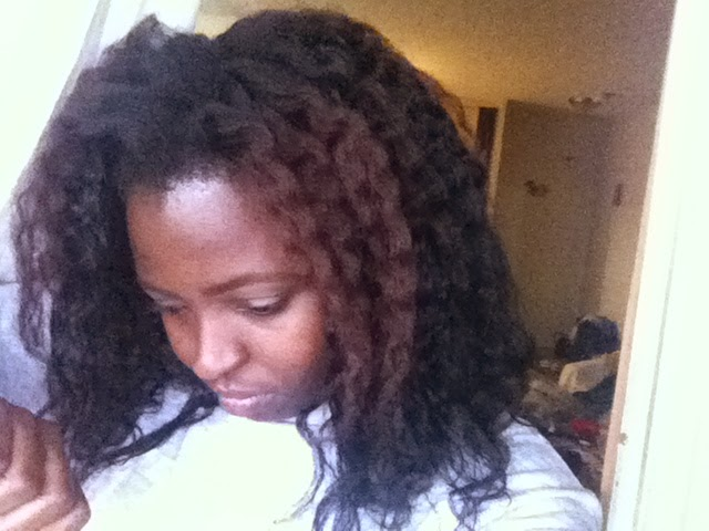 Natural Hair Knots At Ends That I Can Pull Out