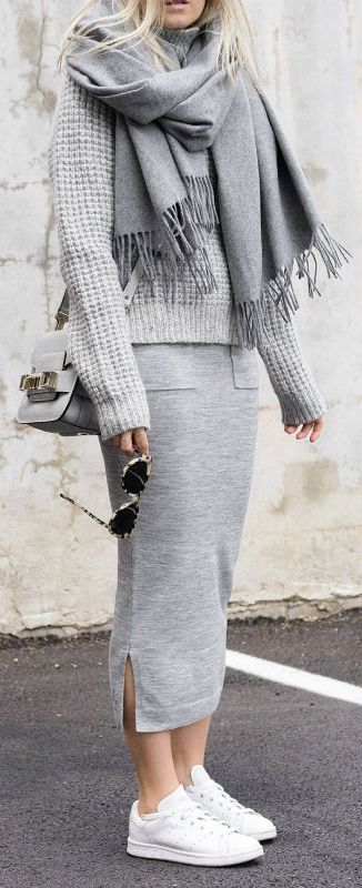 30+ Outfit Ideas On How To Wear Chunky Knits