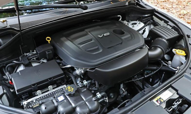 2017 Dodge Durango V 6 AWD Engine