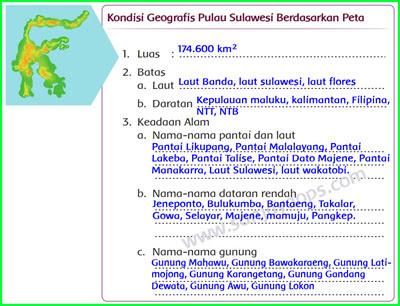 Kondisi-Geografis-Pulau-sulawesi-Berdasarkan-Peta
