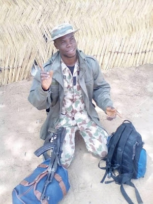 Soldier Appreciates God For His Life After Serving 4 Years Fighting Boko Haram