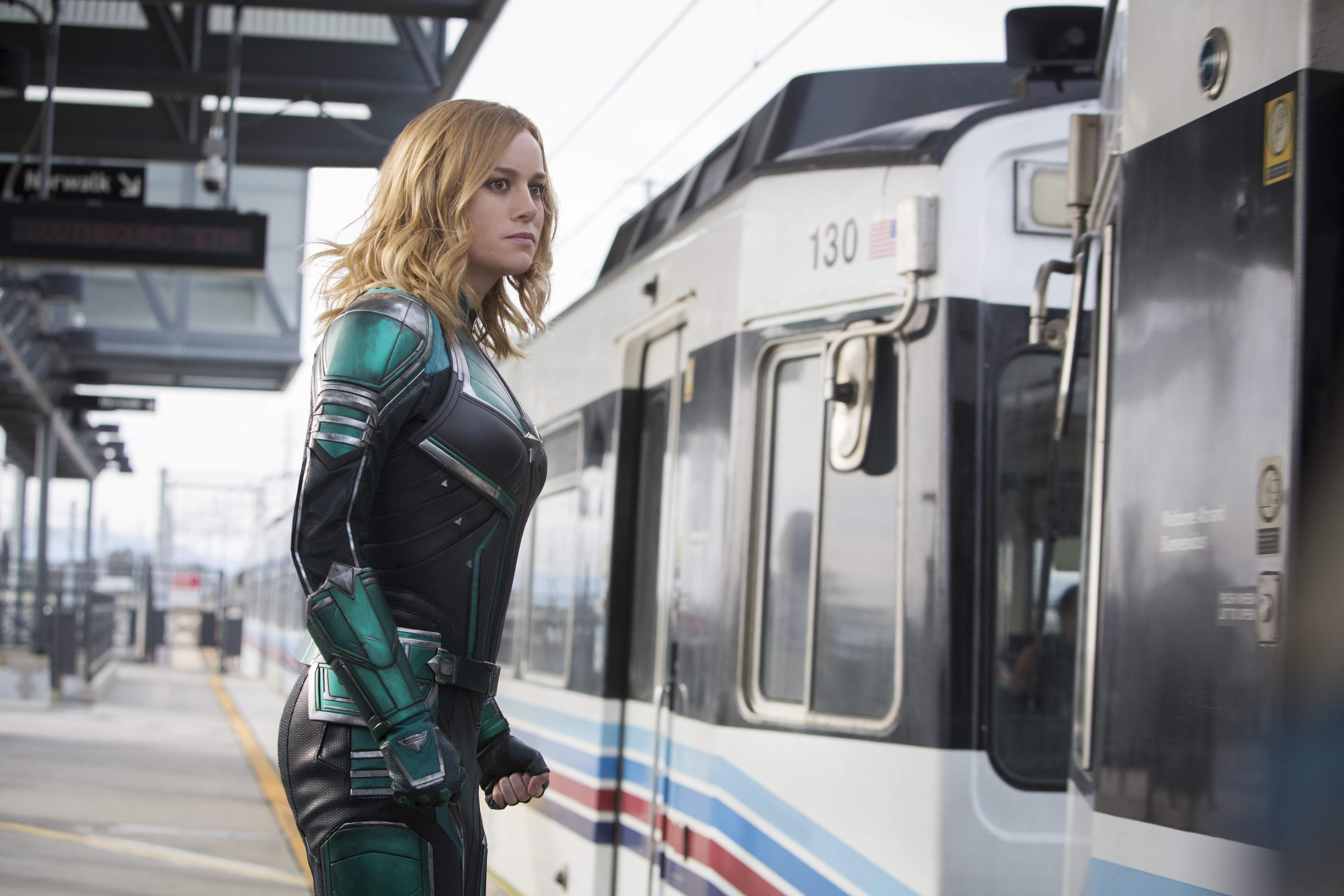 Captain Marvel will air new footage on ESPN : ディズニー・マーベルの戦うヒロイン映画「キャプテン・マーベル」が、新年早々にお年玉映像をオンエア ! !