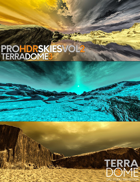 PRO-HDR-SKIES Vol_2 for TerraDome 3
