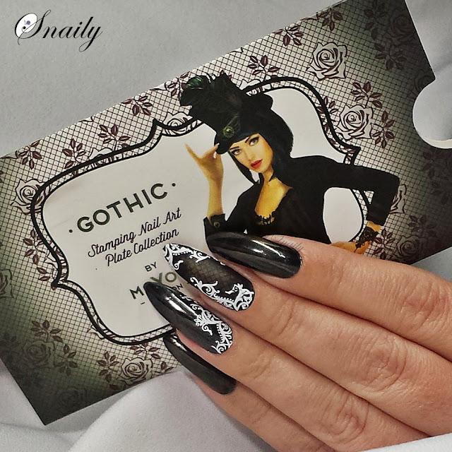 Kontrowersyjna płytka MoYou London - Gothic Collection 06