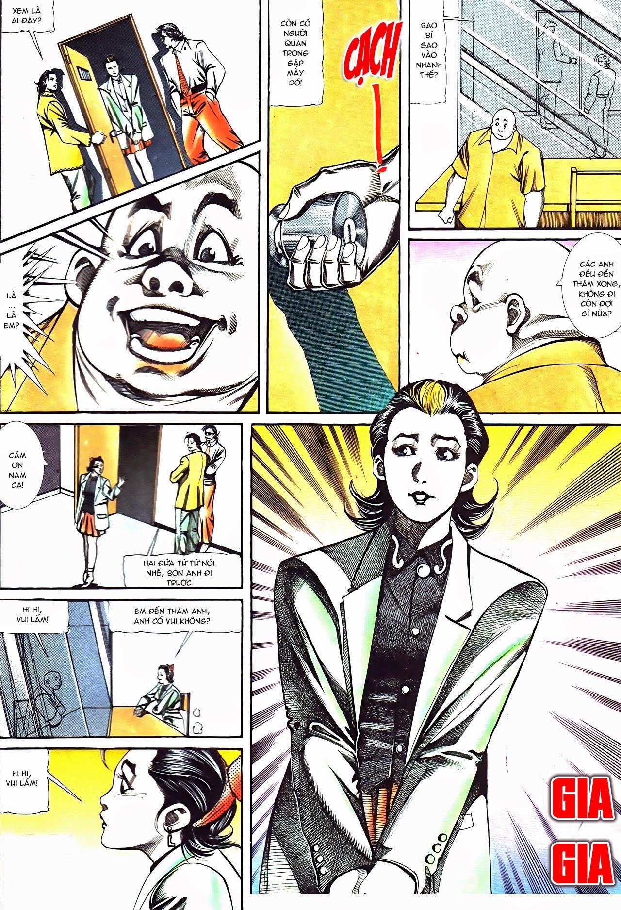 Người Trong Giang Hồ chapter 120: sắc ma đồn môn trang 9