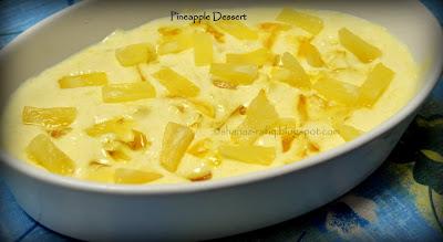 Pineapple Dessert