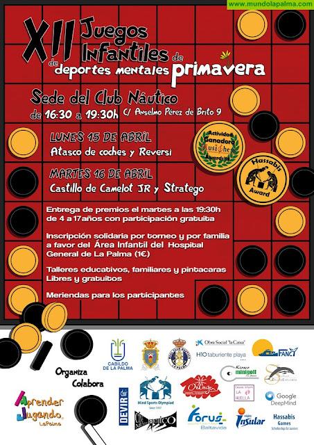Aprender Jugando La Palma celebra los XII Juegos Infantiles de Deportes Mentales de Primavera