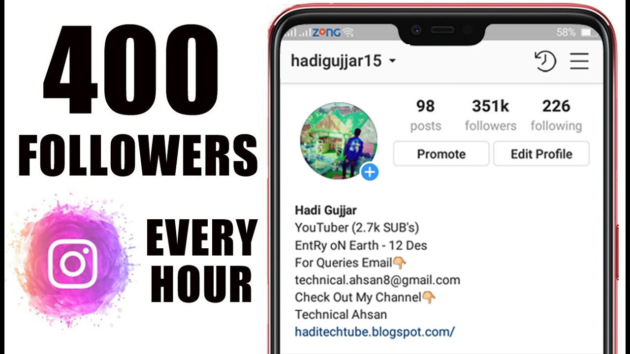 Get 400 Followers On Instagram Free | How Can Someone Hack