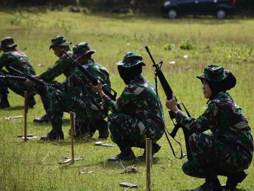 Personel Korem 141/Tp Gelar Latihan Menembak Tw II Ta 2019