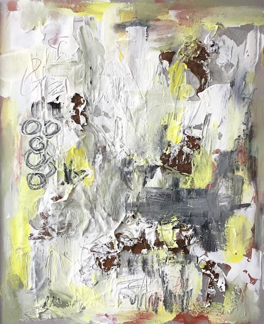 art journal entry - Texture - Jan-27-2019