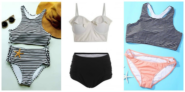 My Rosegal Wishlist: High Waisted Swimsuit