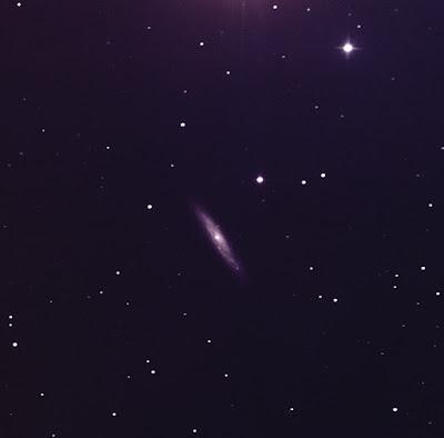 edge-on galaxy NGC 3877 in LRGB