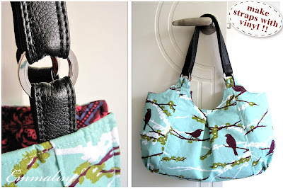 Make Your Own Vinyl Leather Look Handbag Straps A Tutorial