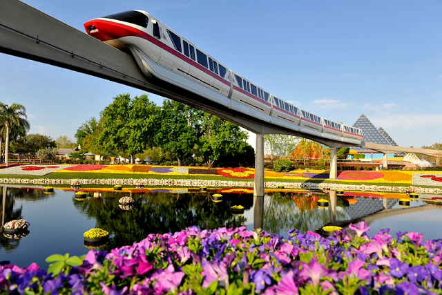 Parque Epcot de Disney en Orlando