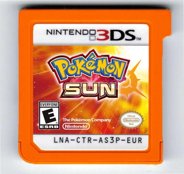 ¡Los cartuchos de Pokémon Sol y Pokémon Luna serían de colores! 1