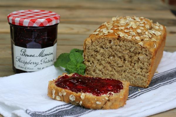 Honey Oat Quick Bread
