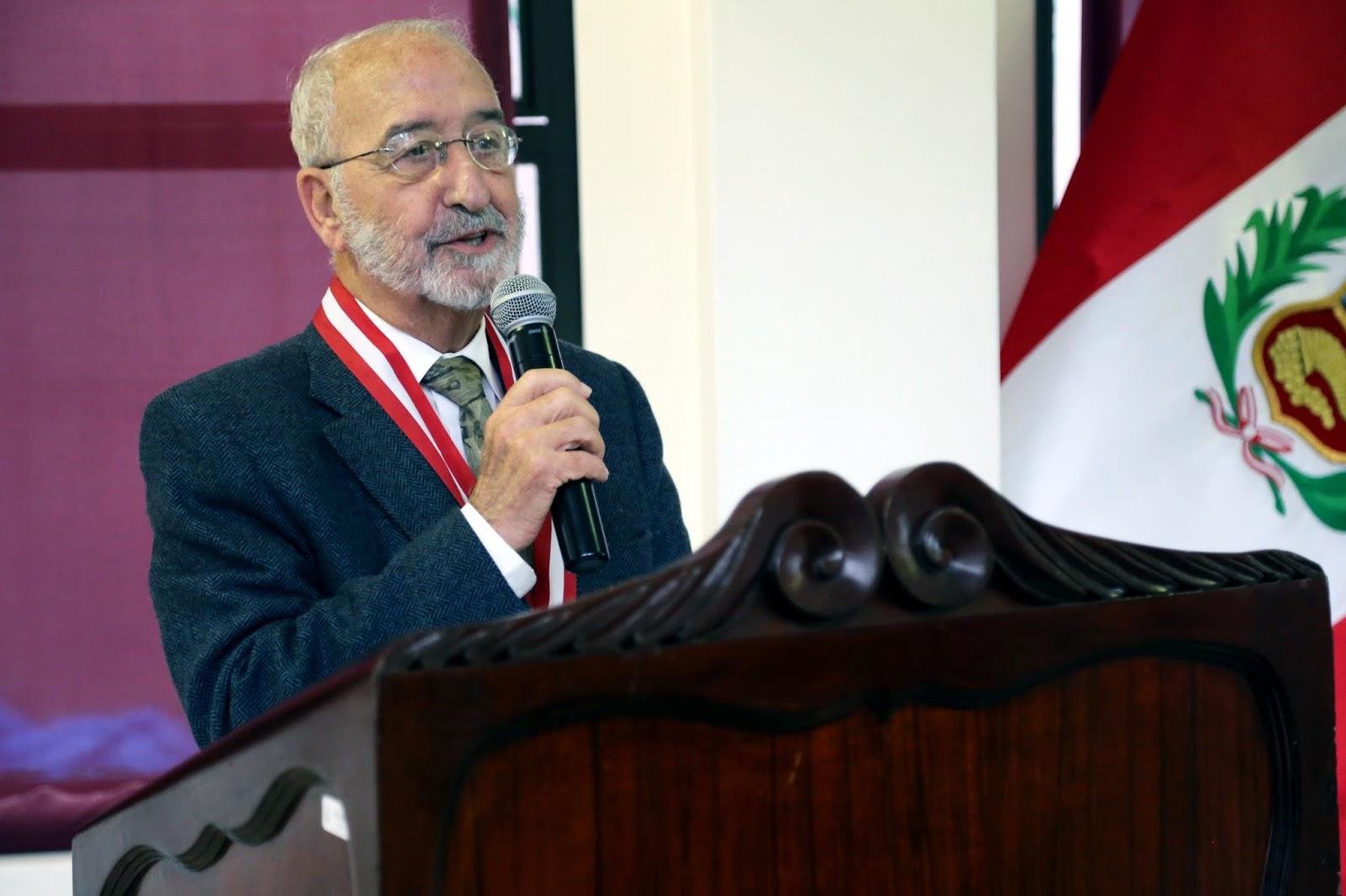 Dr. José López Soria brindó conferencia magistral sobre la UNI