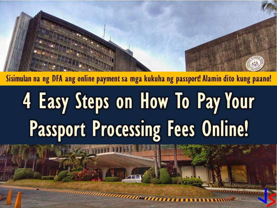 4 Easy Steps on How Pay Your Passport Processing Fees Online