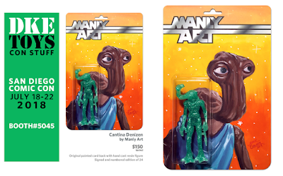 San Diego Comic Con 2018 Exclusive Cantina Denizen Star Wars Resin Figure by Manly Art x DKE Toys