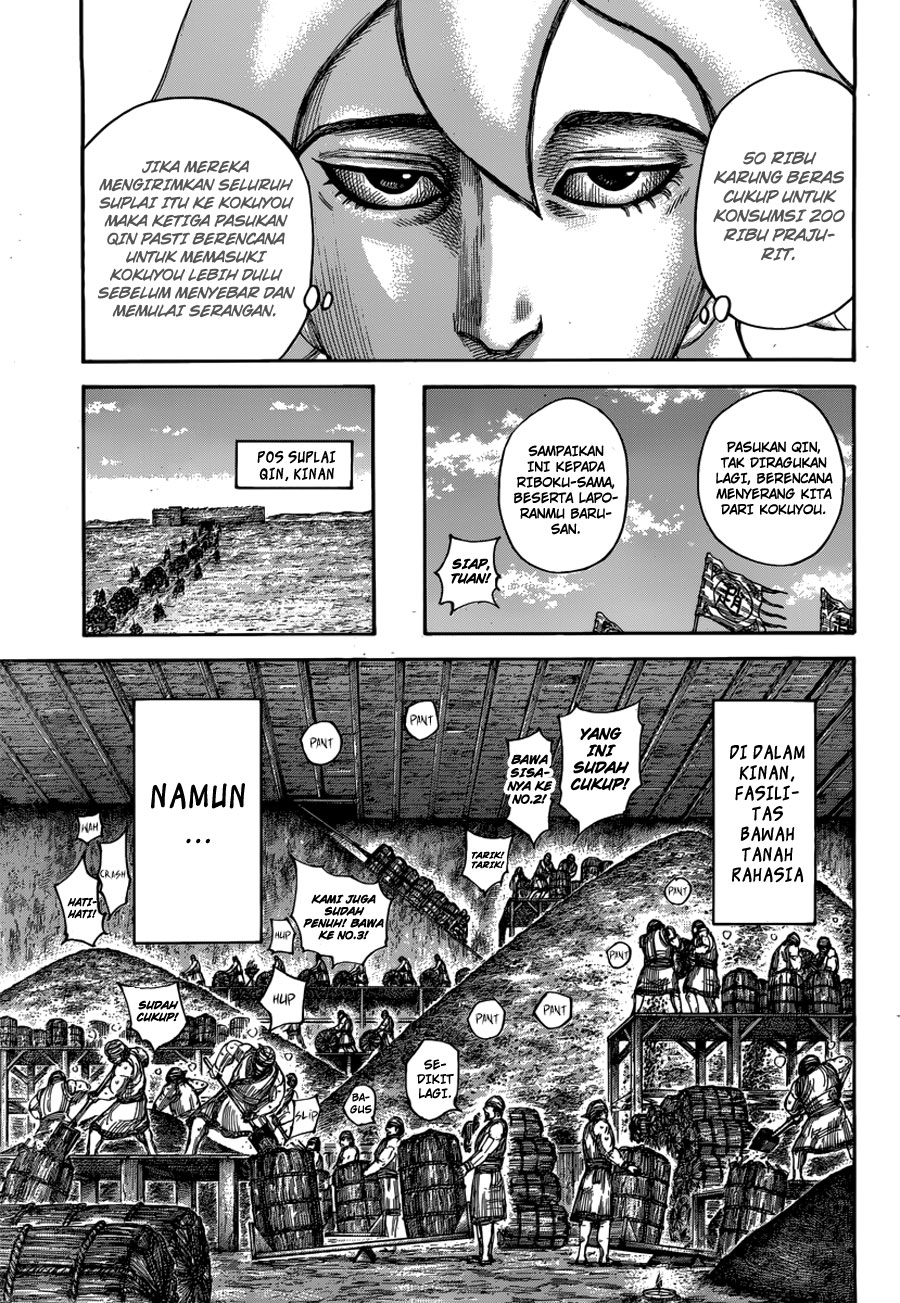 Baca Komik Manga Kingdom Chapter 500 Komik Station