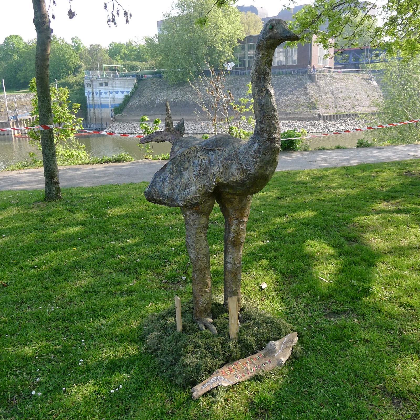 Sper Poetry: Muddy Roads & Dusty Trails: Ruhrort II- The Art Exhibits