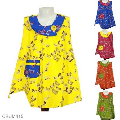Dress batik anak perempuan cantik dan modern