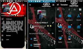 BBM MOD Theme Linkink Park Full version