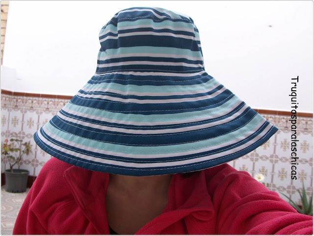 sombrero playa nivea