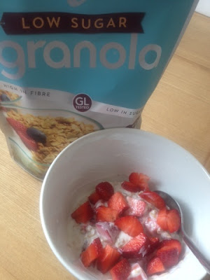 Lizi's low sugar Granola is perfect combined with fruit and yoghurt
