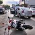 Adolescente atropela mulher e motociclistas do Samu em Ceilândia