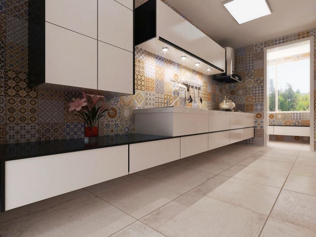 Ideas de revestimientos para las paredes de la cocina for Azulejo para pared de sala