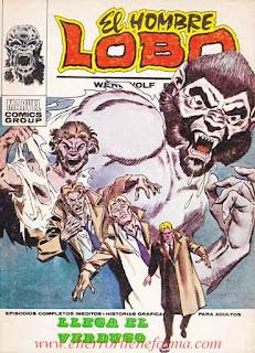 El Hombre Lobo 07 Ediciones Vertice