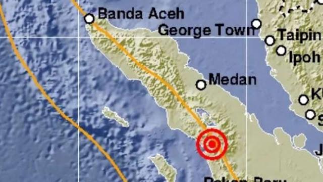 Info BMKG, Gempa Berkekuatan Magnitudo 3,4 & 5,0 Guncang Ambon dan Sumut Pagi Ini