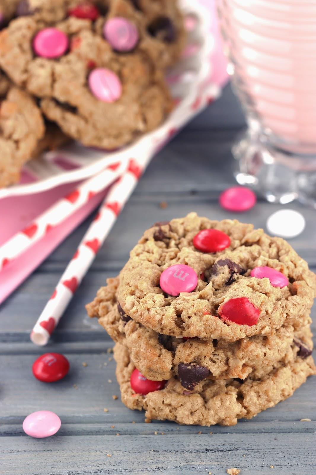 Monster Sweetheart Cookies | Cooking on the Front Burner #monstercookies