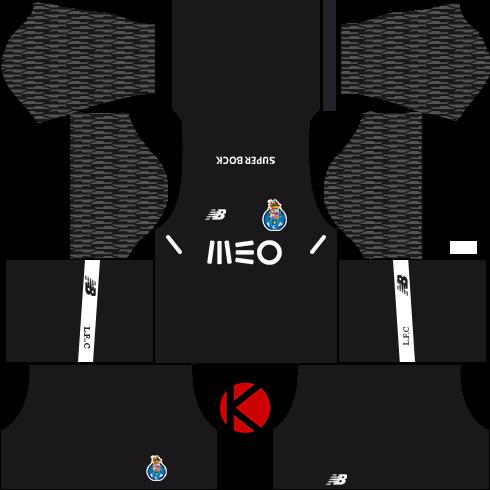 b701efb7c85 FC Porto Kits 2017 18 - Dream League Soccer - Kuchalana
