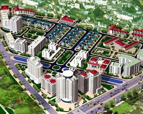 Phối cảnh Khu đô thị mới Resco Cổ Nhuế
