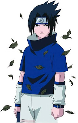 Dibujo de Sasuke Uchiha de joven
