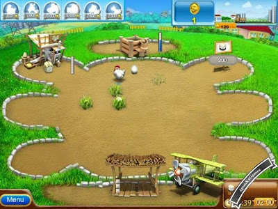 Farm Frenzy Pizza Party Screenshots