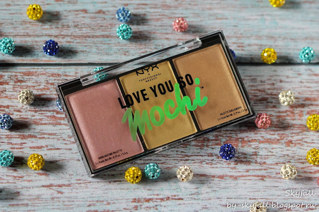 NYX Love You So Mochi Highlighting Palette, отзывы
