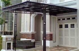 canopy rumah polycarbonate