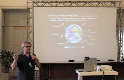 Pesquisador francês do IRD apresenta tecnologias de sensoriamento remoto na observação da dinâmica hídrica no Escritório do Rio de Janeiro